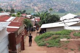 Vulnerability in informal settlements, Kigali, Rwanda. Credit: Irfan Shakil, Khulna University, Bangladesh.
