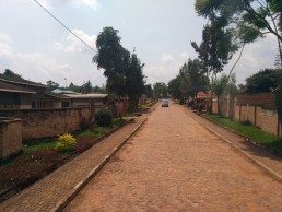 Planned Neighbourhood in Huye, Rwanda. Credit: Irfan Shakil, Khulna University, Bangladesh.