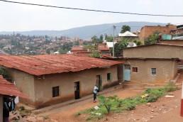 Informal settlements, Kigali, Rwanda. Credit: Irfan Shakil, Khulna University, Bangladesh.