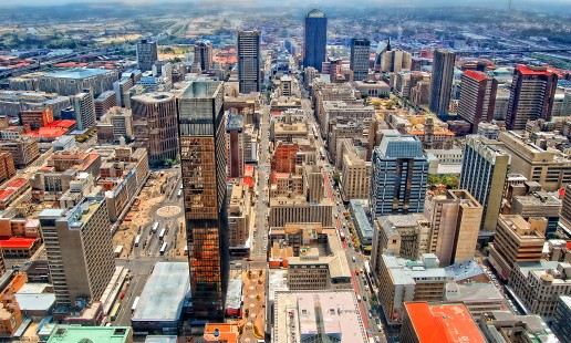 Central Business District, Johannesburg, South Africa