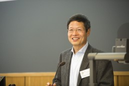 Professor Ya Ping Wang, SHLC Launch Event.