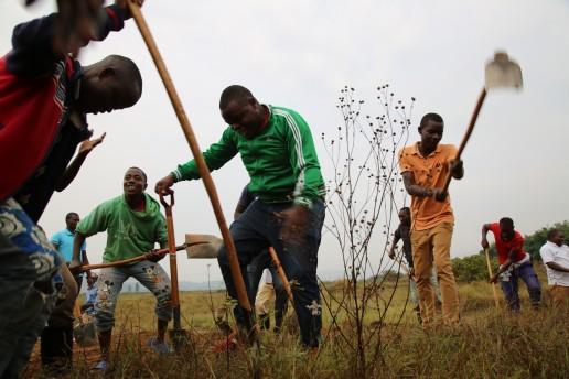 Umuganda, Nduba Sector, Gasabo District, Rwanda. Credit: Ministry of Environment - Rwanda.