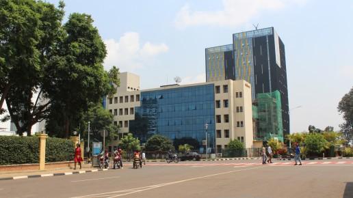 Central Business District, Kigali, Rwanda. Credit: Gail Wilson
