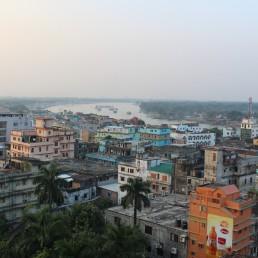 River bank, Khulna, Bangladesh. Credit: Irfan Shakil, Khulna University