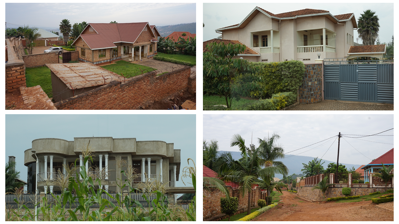 Planned and Privately Built New Housing and Neighbourhoods, Kigali, Rwanda. Credit: Ya Ping Wang, University of Glasgow
