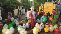 Water tanks, Madurai, India. Credit: Arvind Pandey, National Institute of Urban Affairs