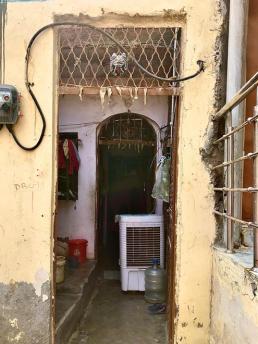 A typical dwelling in Madanpur Khadar, New Delhi. Credit - Geci Karuri-Sebina and David Everatt