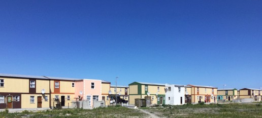Housing in Delft township, Cape Town, South Africa. Credit: Ivan Turok, Human Sciences Research Council