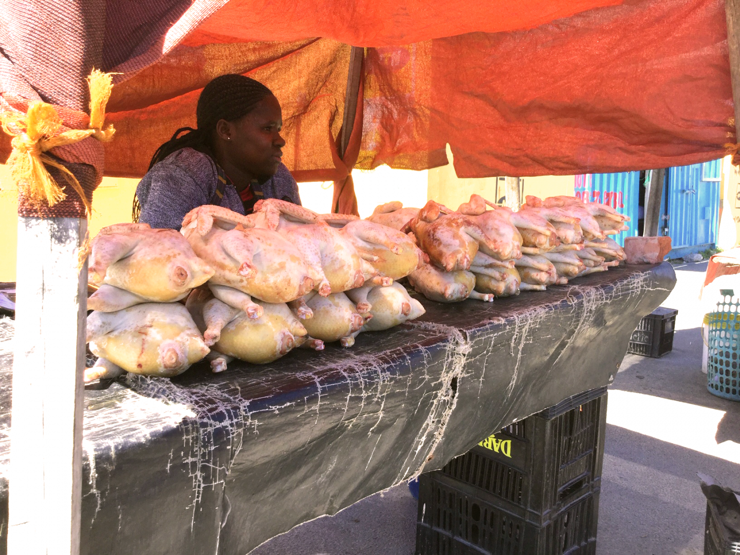 Informal street traders, Cape Town, South Africa. Credit: Ivan Turok, Human Sciences Research Council.