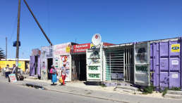 Retail in Delft township, Cape Town, South Africa. Credit: Ivan Turok, Human Sciences Research Council.