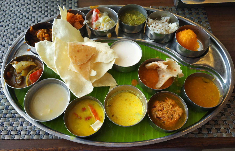 Thali – the taste of South India, Madurai, India. Credit: Arvind Pandey, NIUA