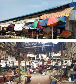 Modern vs Traditional – the Smart City Fruit Market in Madurai, India. Credit: Arvind Pandey, NIUA