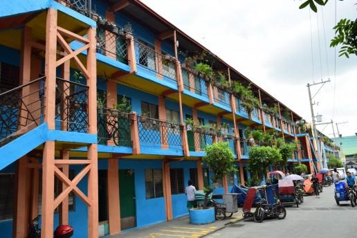 Jaime Cardinal Sin Village, Santa Ana, Manila, Philippines. Credit: Gail Wilson, University of Glasgow