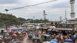 Disarray of urban functions in Joydebpur. © 2020 SHLC Bangladesh