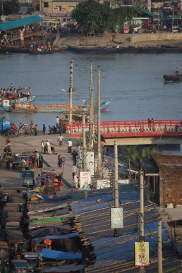 Edge of the city - Rupsa River Ghat, Khulna, Bangladesh. Credit: Irfan Shakil, Khulna University