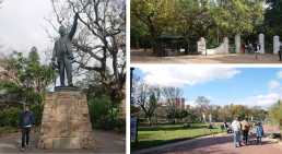 Public Park with controversial statue of Cecil Rhodes. The Company's Garden, Cape Town. Credit: Zubeida Lowton, University of Glasgow