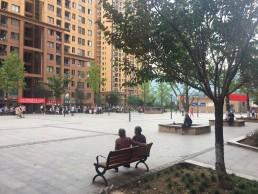 'Shareable neighbourhood', Beauty Sunshine housing estate, Chongqing, China. Credit: Kehan JI.