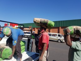 Delivering cement, King Williams Town, South Africa. Credit: Mvuzo Ponono.