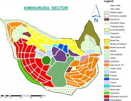 Proposed map of my neighbourhood in Kigali City/Gasabo District/Kimihurura Sector. Credit: Aphrodis Muhirwa and Diane Mumararungu.