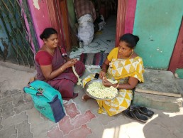 The 'invisible workers': capturing home-based work in Madurai, India. Credit: Arvind Pandey