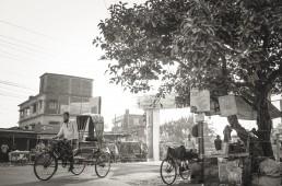 A rickshaw puller, Gollamari, Banorgati, Khulna City, Bangladesh. Credit: Tanmoy Malaker.