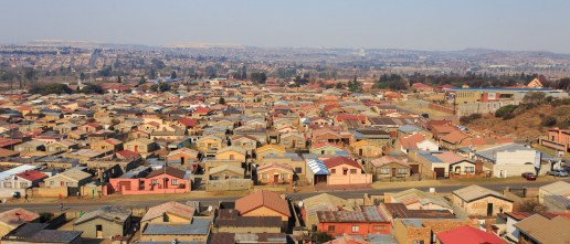 Soweto township in Johannesburg, South Africa. Credit Shutterstock, Gil.K.