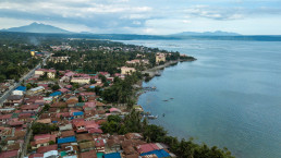 Aerial of the town of Talisay. Batangas, Philippines, Credit: Shutterstock: Michael D Edwards