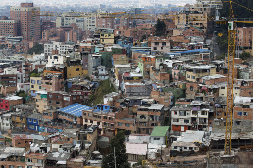 City view of Bogotá, Colombia. Credit: Flickr,Dominic Chavez, World Bank