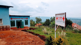 Private health facility on the fringes of Kigali, Rwanda. Credit: Ramjee Bhandari, University of Glasgow