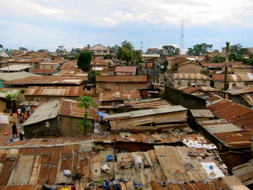 The rooftops of Kisenyi, Kampala, Uganda. Credit: Flickr, Slum Dwellers International