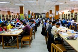 Sufia Kamal National Public Library, Dhaka, Bangladesh. Credit: Shutterstock, Sal Galib