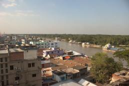 Noapara river city, Bangladesh. Credit: Jinia Nowrin