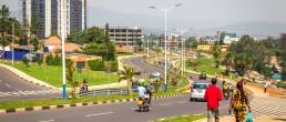 A view towards town, Kigali, Rwanda