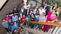 SHLC international team, capacity-strengthening workshop, University of Glasgow.