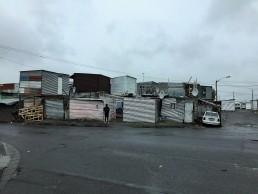 Double-storey shacks in Joe Slovo Park, Cape Town.