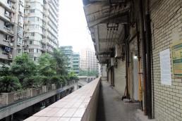'Work unit' housing area, Chongqing, China. June 2018