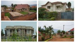 Planned and Privately Built New Housing and Neighbourhoods, Kigali, Rwanda. Credit: Ya Ping Wang, University of Glasgow