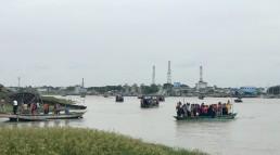 Arriving in Mongla by boat, Bangladesh. Credit: Hanna Ruszczyk, Durham University.