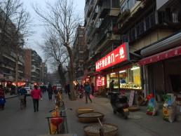 Busy night, Yameili Community, Tianjin, China. Credit: Nankai University.