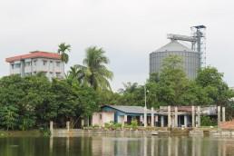 Home beside workplace, Mirerdanga, Khulna, Bangladesh. Credit: Nishat Tasnim Maria and Irfan Shakil.