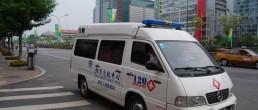 Ambulance. China. Credit: Flickr, egorgrebnev.