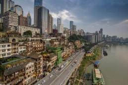 Chongqing Hongyadong scenery. Shutterstock, HelloRF Zcool